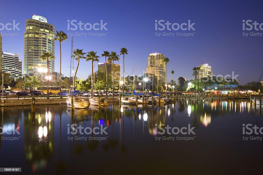 St. Petersburg, Florida, USA stock photo