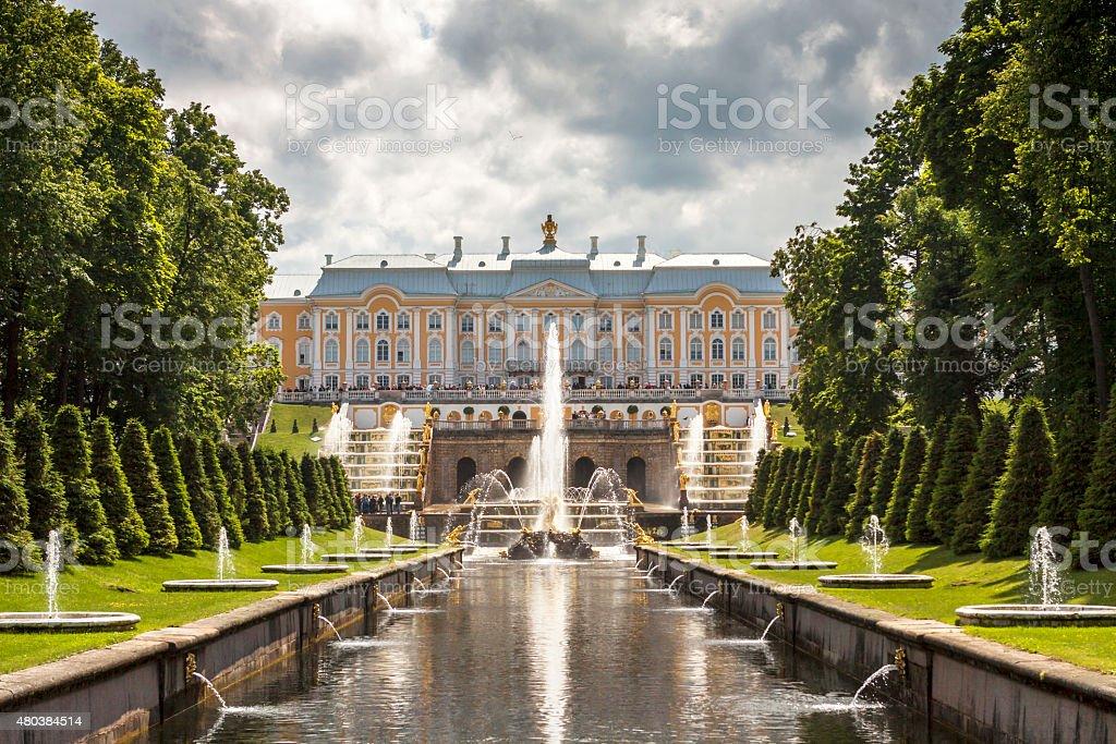 St. Petersburg park stock photo