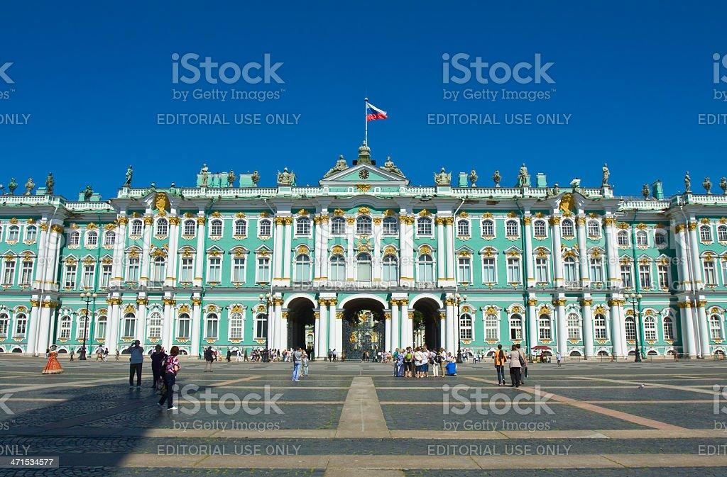 St. Petersburg, Winter palace (Hermitage) stock photo