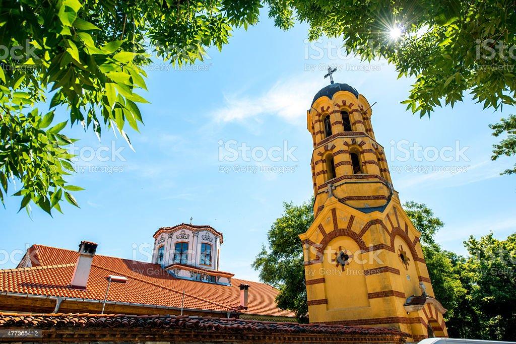 St. Petka church in Plovdiv stock photo