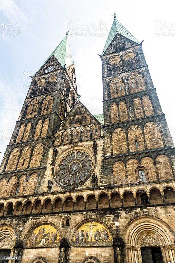 St. Petri Dom in Bremen stock photo