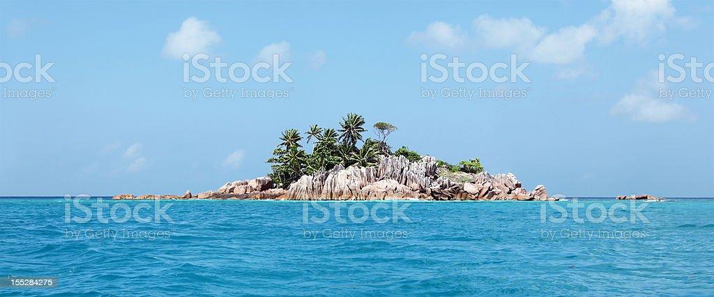St Pierre Island, Seychelles stock photo
