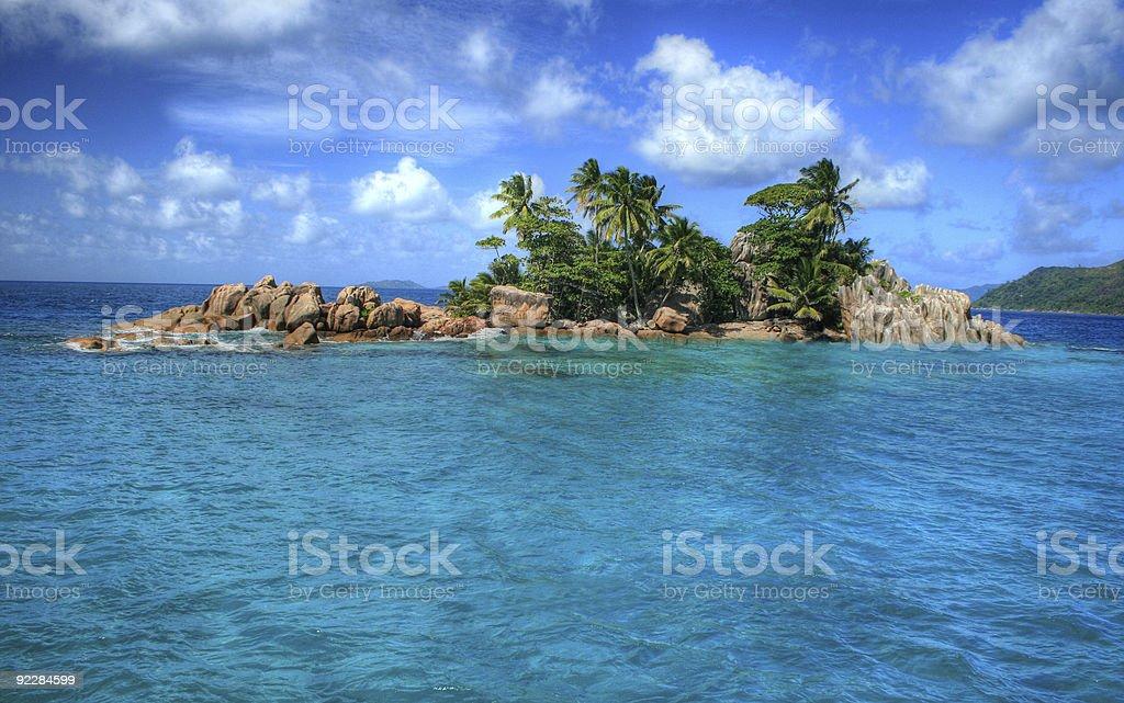 St Pierre Island Seychelles royalty-free stock photo