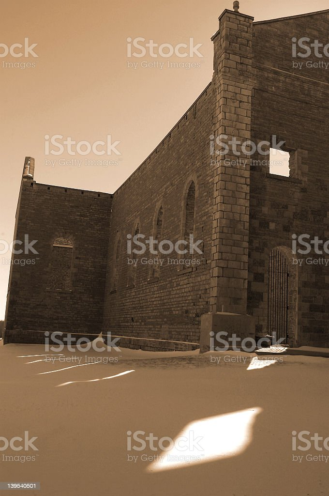 St. Raphael's ruins royalty-free stock photo