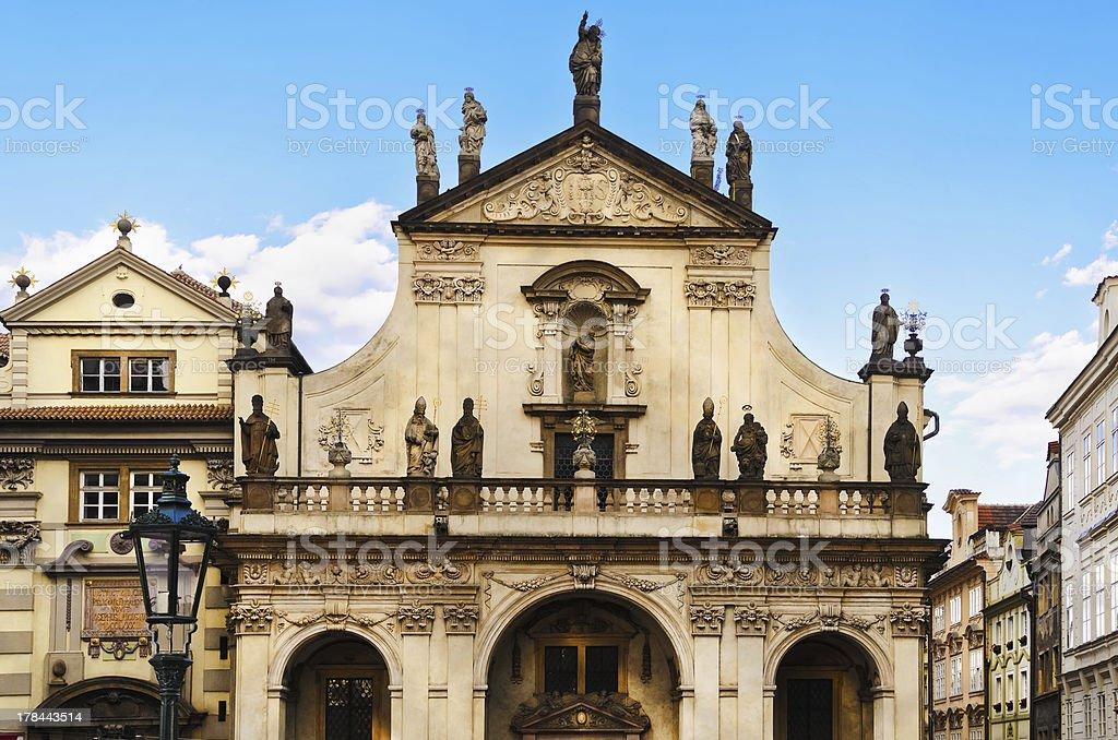 St. Salvator Church stock photo