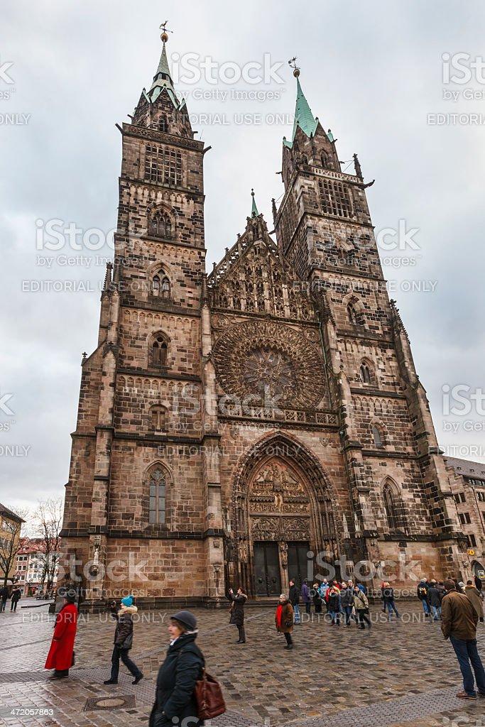 St. Sebald Kirche, Nuremberg stock photo