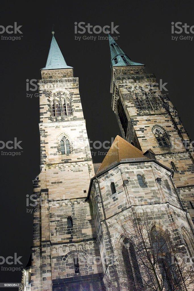 St. Sebaldus Church stock photo