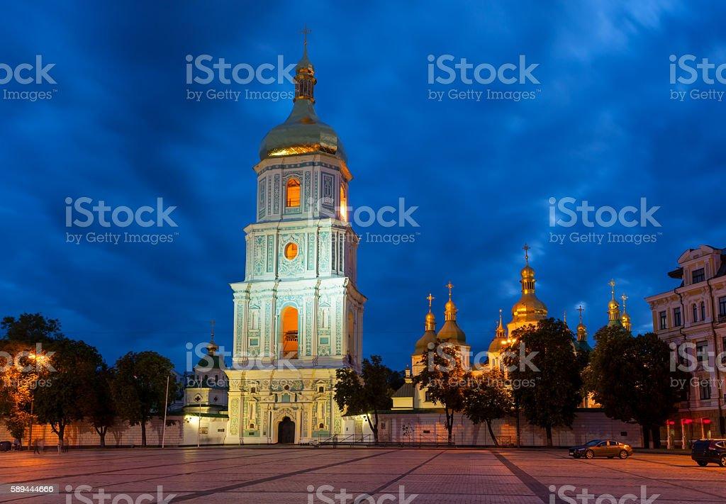 St. Sophia catedral, Kyiv, Ukraine stock photo