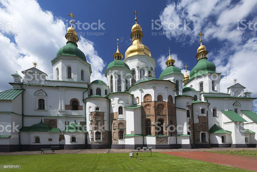 St. Sophia Cathedral in Kyiv royalty-free stock photo