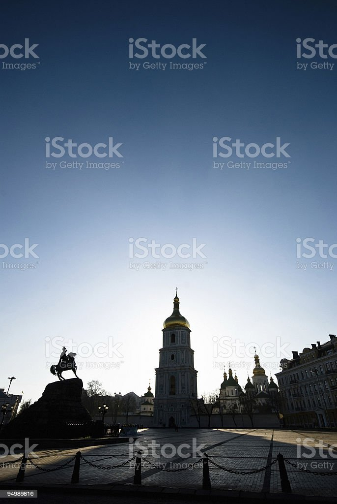 St. Sophia's Cathedral stock photo