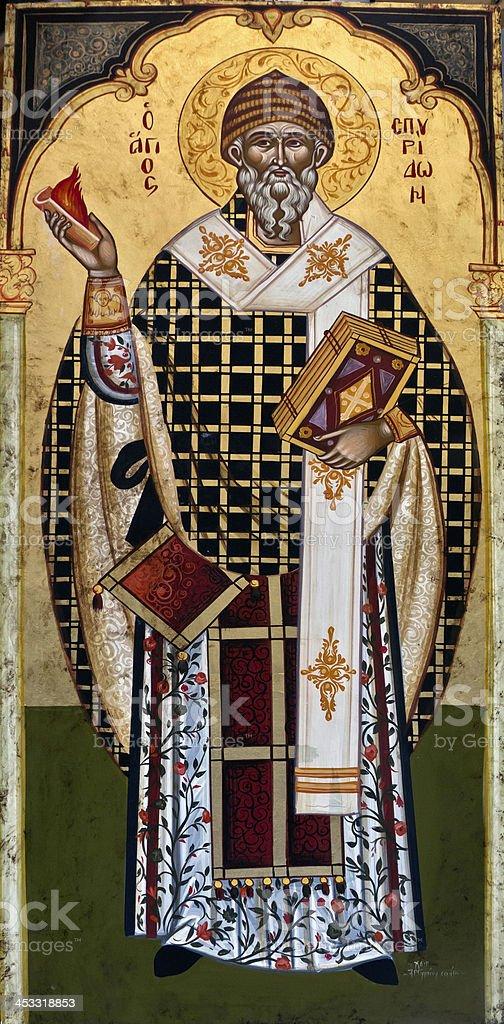 St. Spiridon Church, Corfu, Greece stock photo