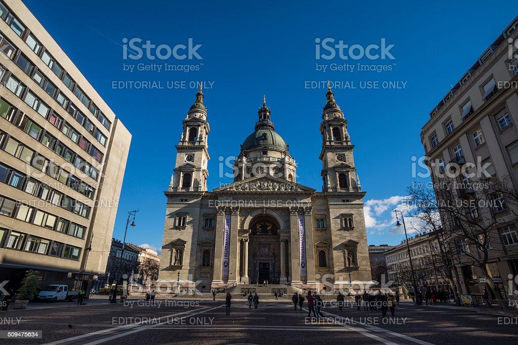 St Stephan basilica stock photo