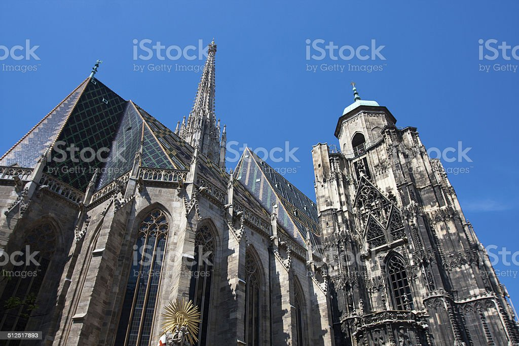 St. Stephans cathedral, Vienna, Austria. stock photo