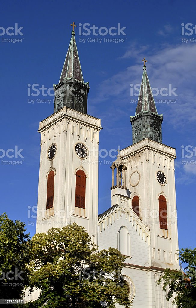 St Stephan's Church royalty-free stock photo