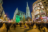 St Stephen's Cathedral at Christmas