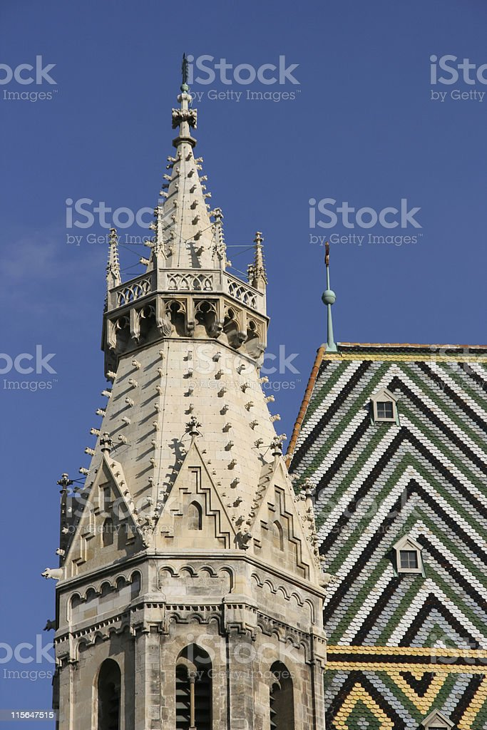 Stephansdom cathedral stock photo