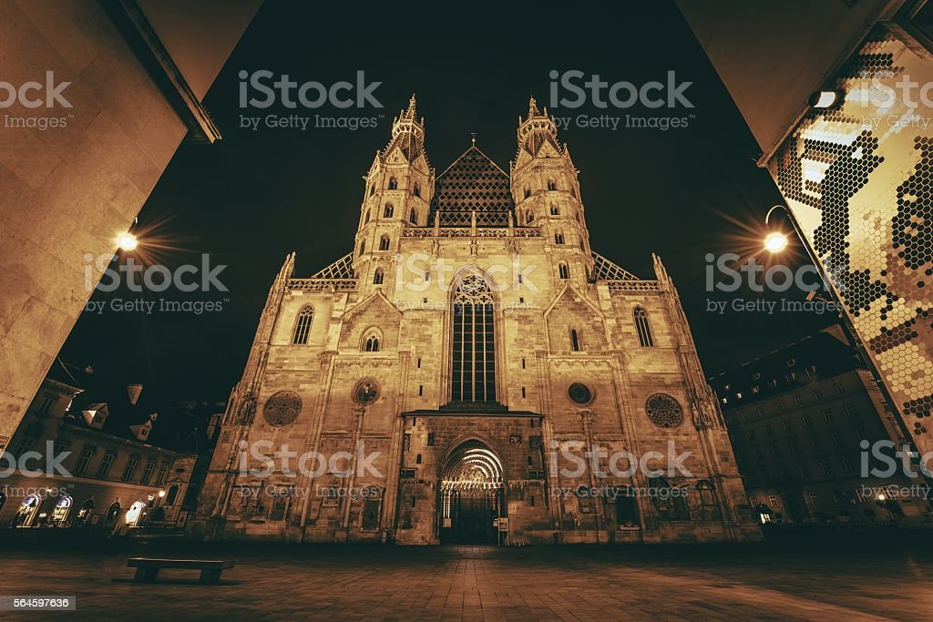 St. Stephen's Cathedral Vienna stock photo