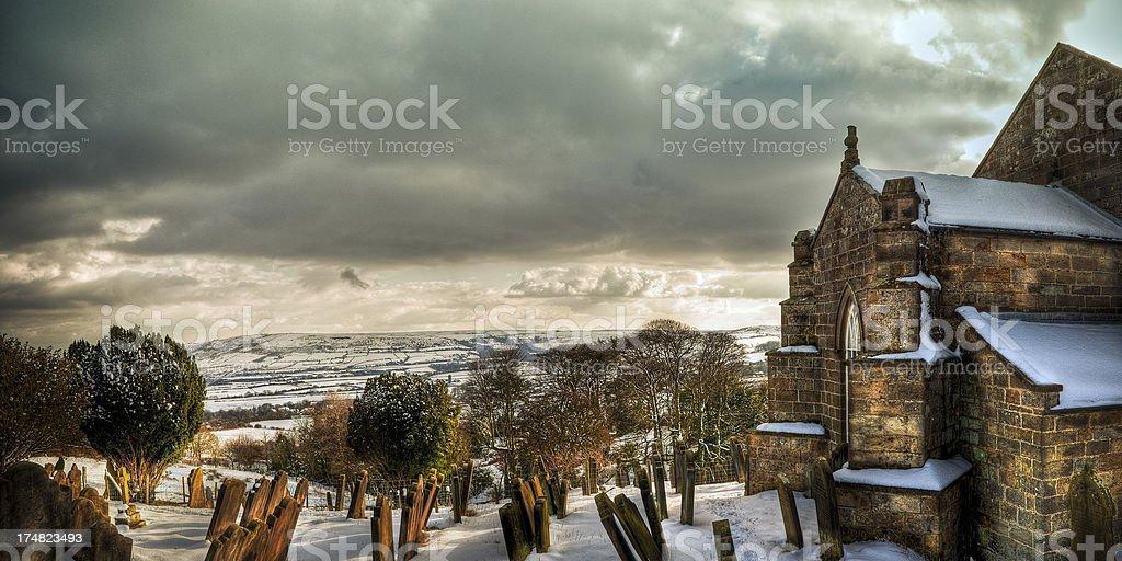 St. Stephen's Church, Robin Hoods Bay, North Yorkshire stock photo