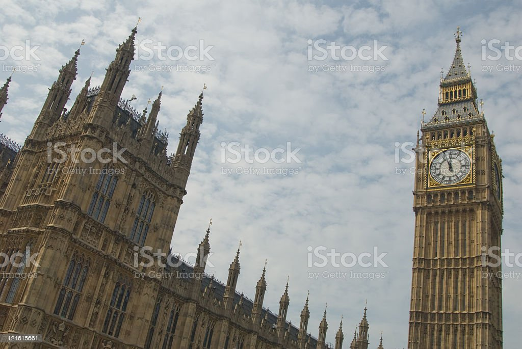St Stephens Tower london royalty-free stock photo
