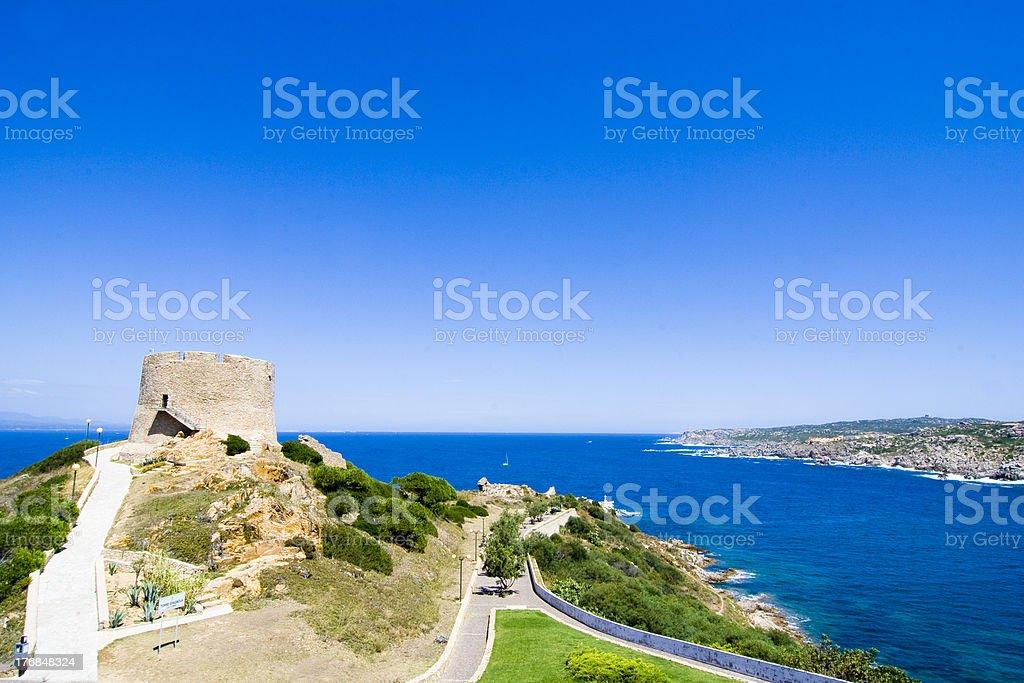 St. Teresa - Sardinia, Italy royalty-free stock photo