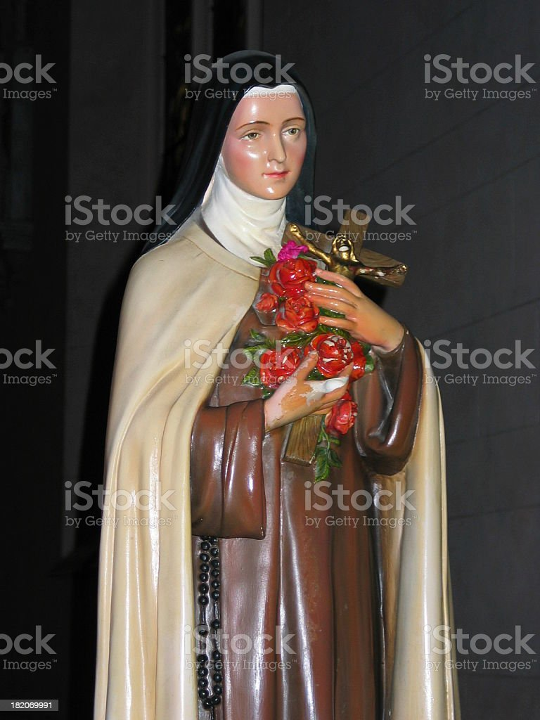 St Theresa of the Child Jesus royalty-free stock photo