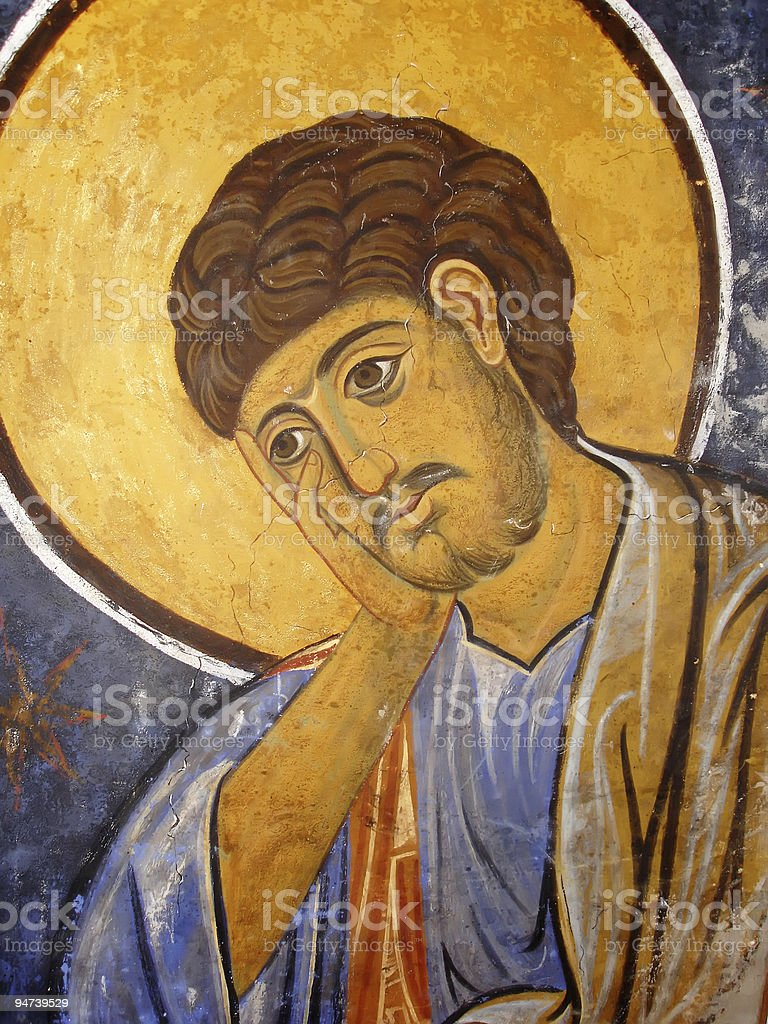St. Thomas Icon stock photo