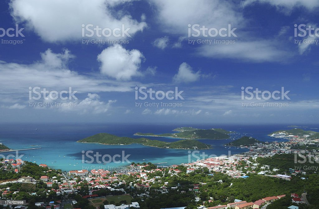 St. Thomas royalty-free stock photo