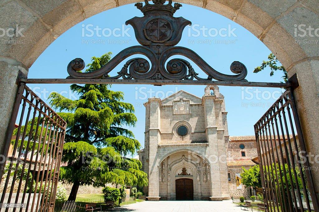 St Thomas Royal Monastery - Avila - Spain stock photo