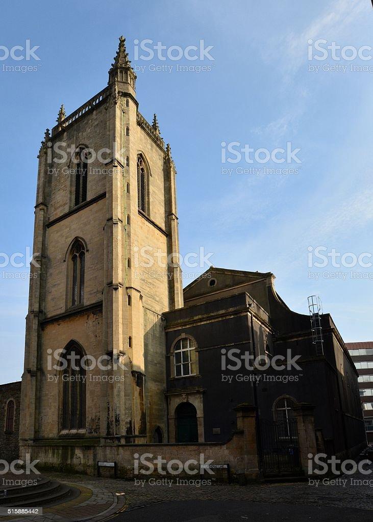St Thomas the Martyr, Bristol stock photo