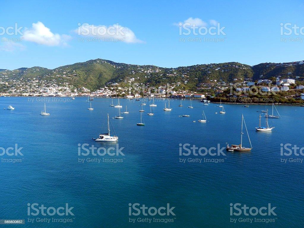 St. Thomas, US Virgin Islands stock photo