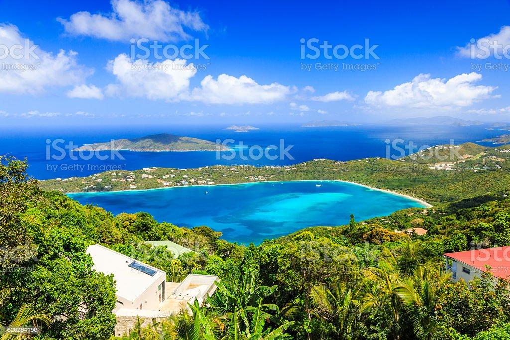 St Thomas, US Virgin Islands. stock photo