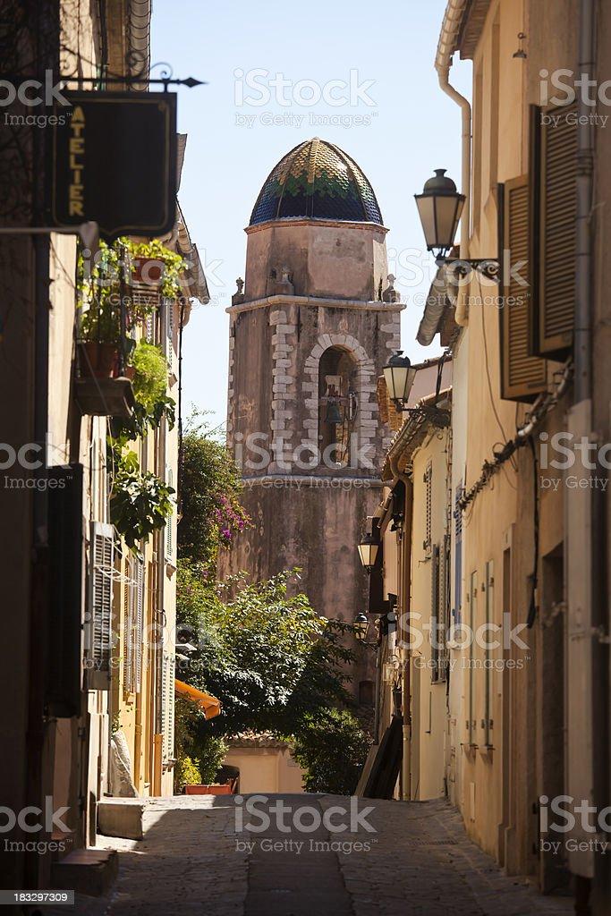 St Tropez Back Streets stock photo