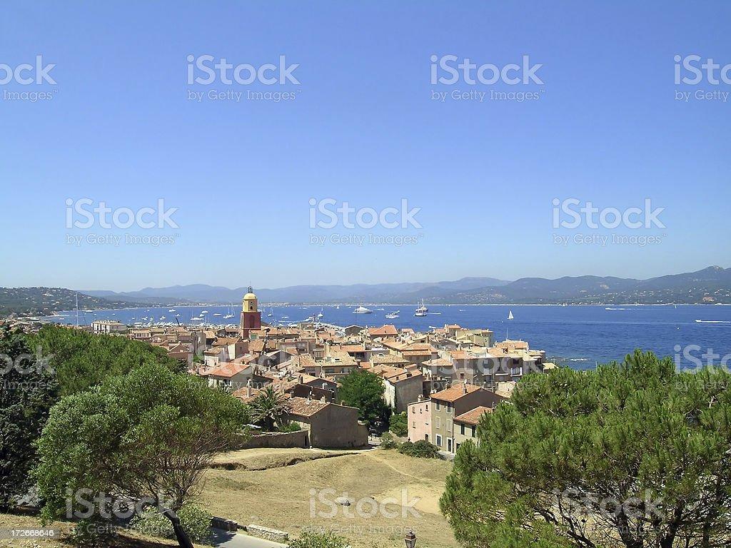 St. Tropez, French Riviera royalty-free stock photo