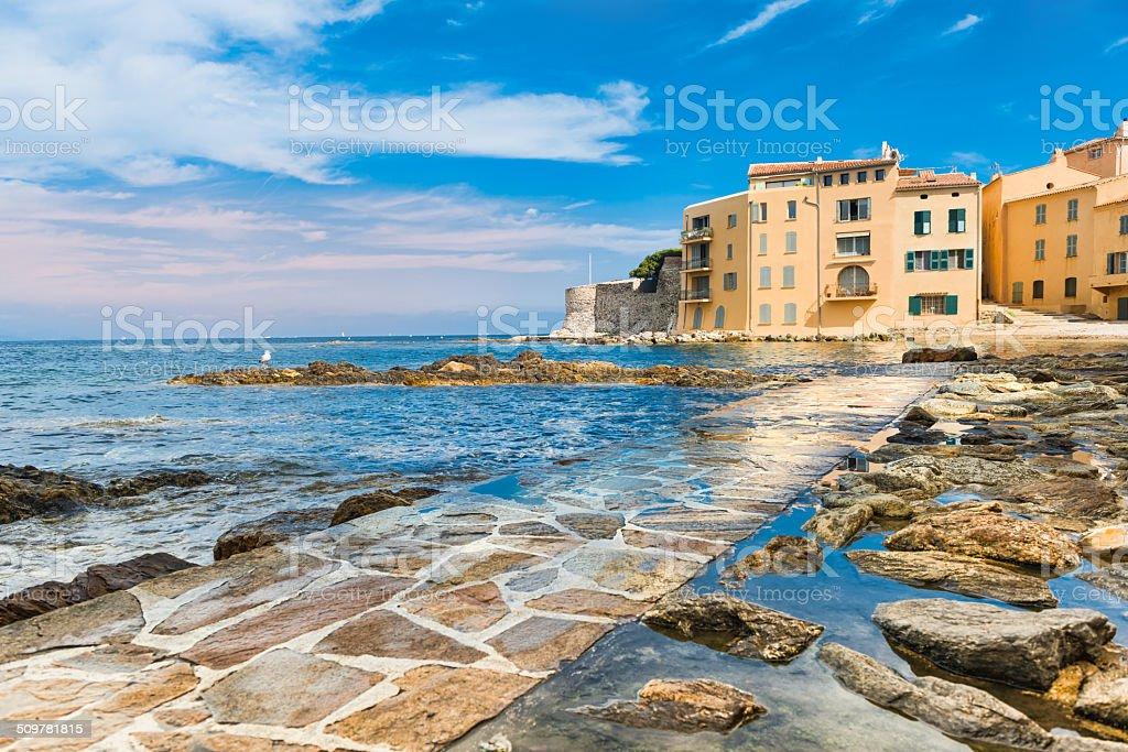 St Tropez stock photo