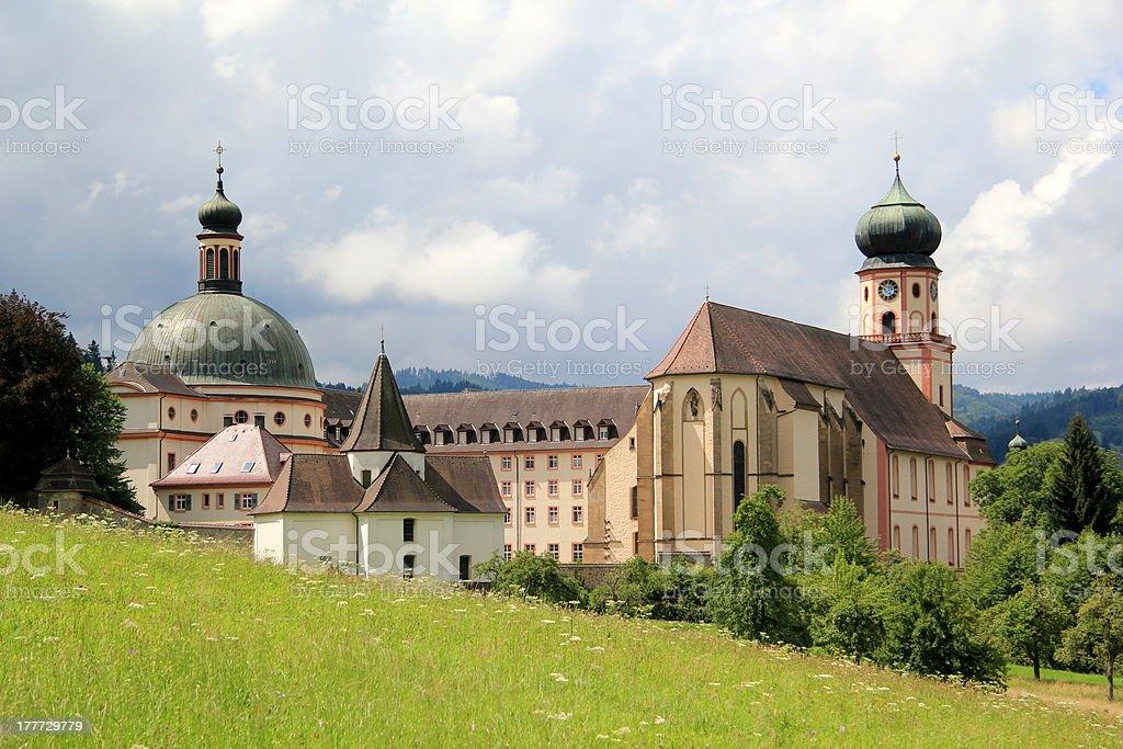 St Trudpert's abbey stock photo