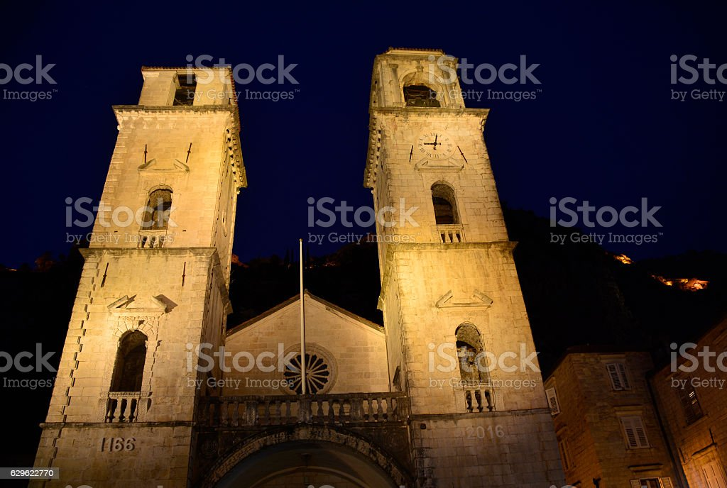St Tryphons Cathedral stock photo