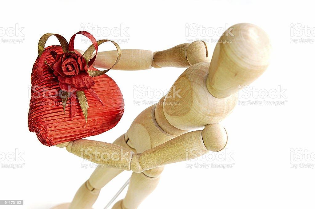 St Valentine's day royalty-free stock photo