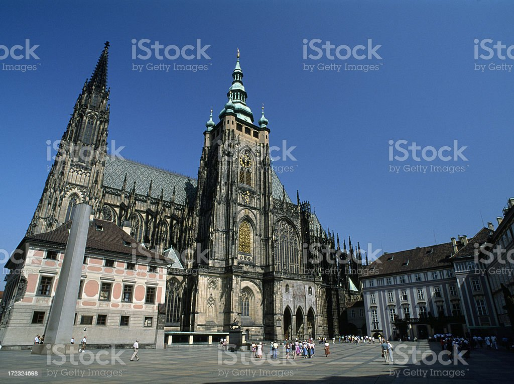St Vitus Cathedral in Prague Czech Republic. royalty-free stock photo