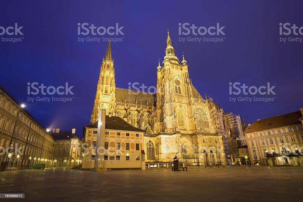 St. Vitus Cathedral, Prague royalty-free stock photo