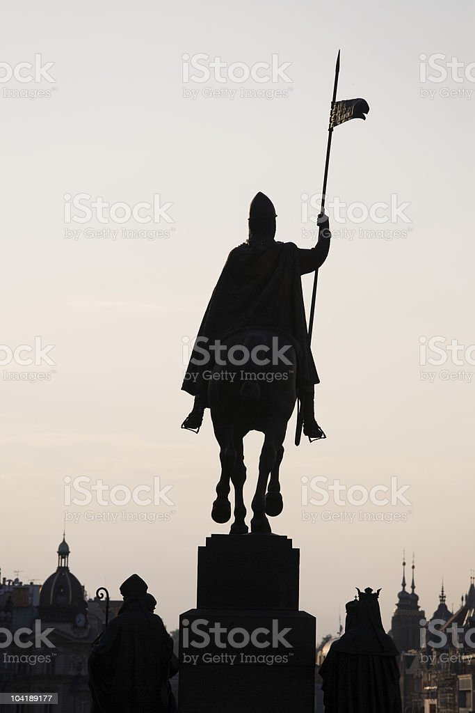 St Wenceslas royalty-free stock photo
