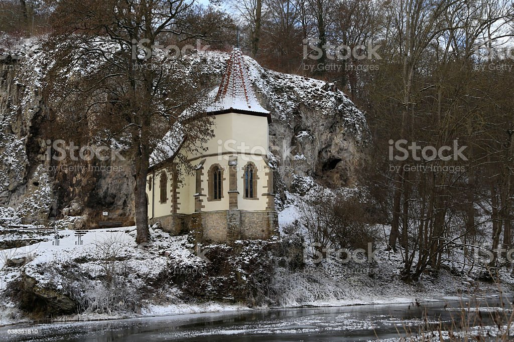St. Wendel to the stone (Germany) stock photo