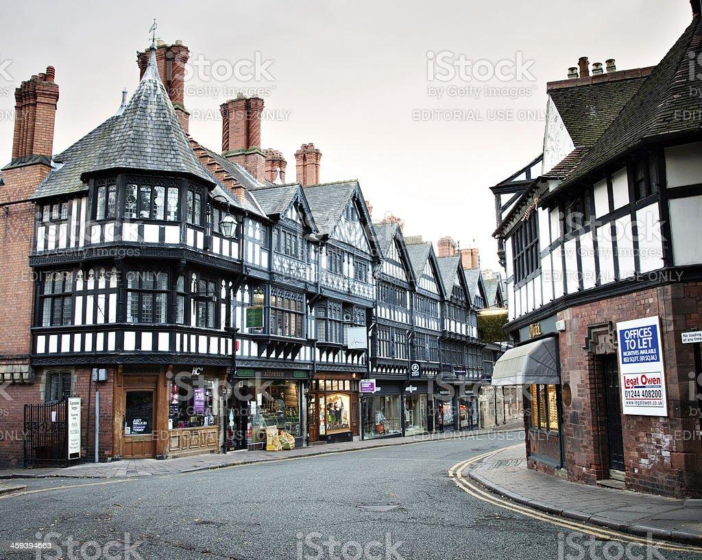 St Werburgh Street at Dawn royalty-free stock photo