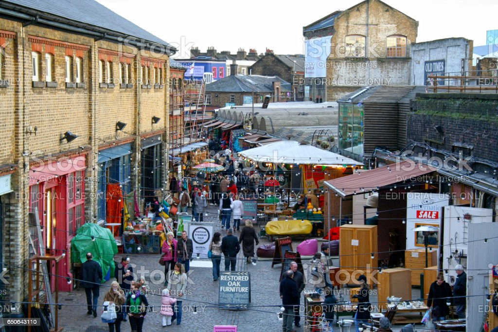 Stables Market stock photo