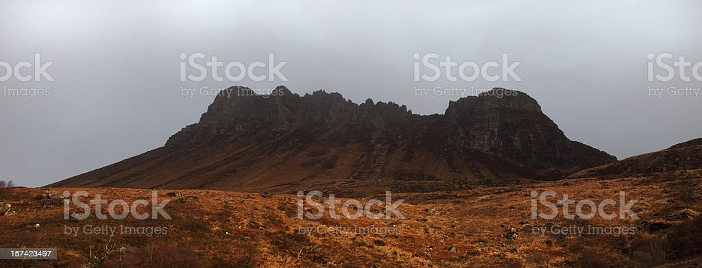 Stac Pollaidh royalty-free stock photo