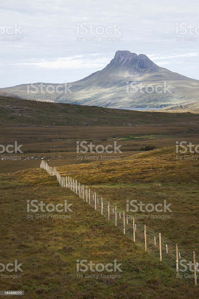 Stac Pollaidh (Stack Polly) stock photo