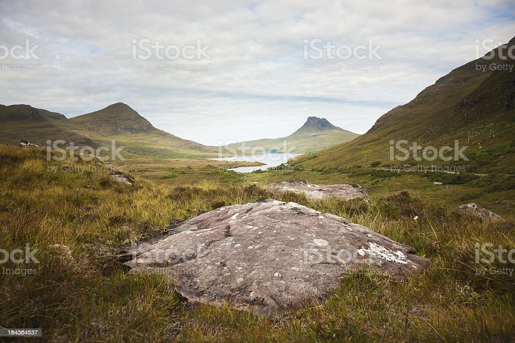 Stac Pollaidh (Stack Polly) royalty-free stock photo