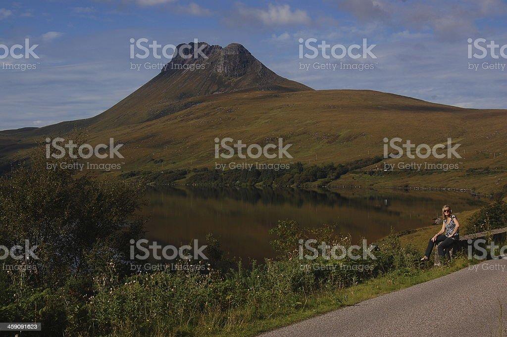 Stac Pollaidh stock photo
