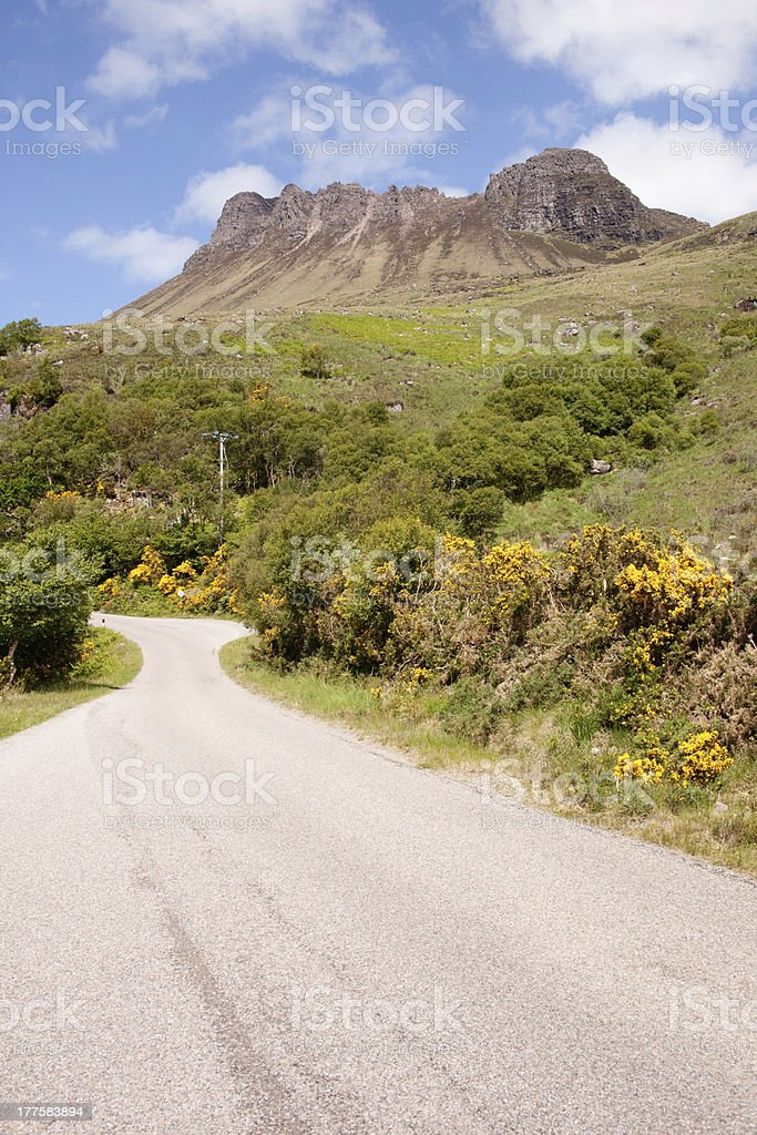 Stac Polly stock photo