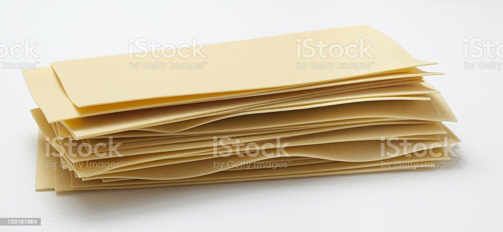 Stack Lasagna royalty-free stock photo