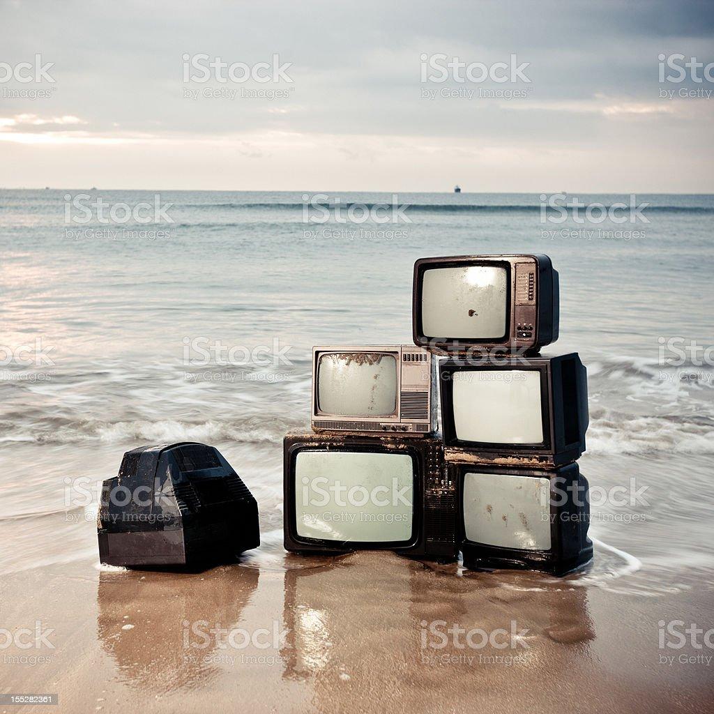 Stack media royalty-free stock photo